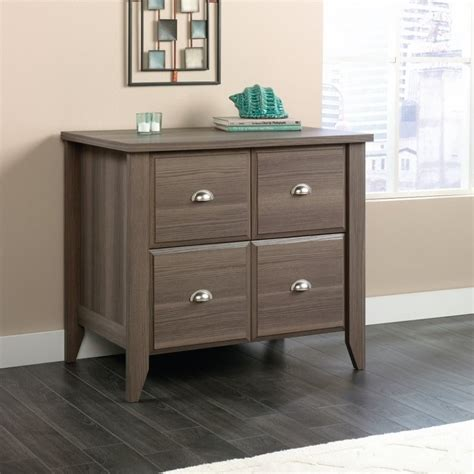 Sauder Shoal Creek Dresser Ash by Sauder Shoal Creek 4 Drawer File Cabinet In Ash