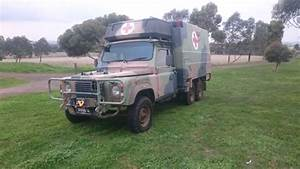 Land Rover Defender Perentie 6x6 Ex Ambo Camper