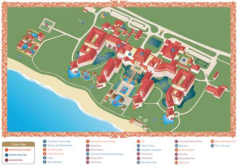star resort bali intercontinental bali resort map