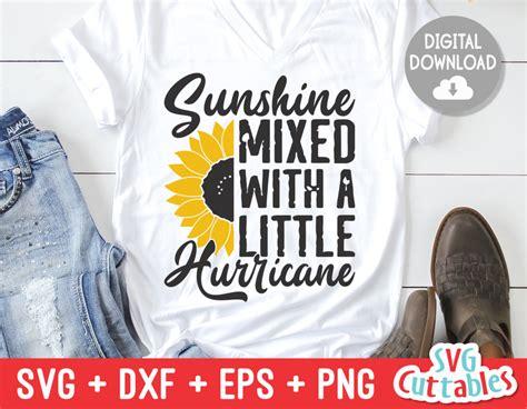 sunshine mixed    hurricane sunflower svg cut file svgcuttablefiles