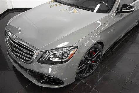 We warn you in advance: 2020 Mercedes-Benz S-Class S63 AMG DESIGNO ($182,365 MSRP) *SPECIAL ORDERED** | eBay