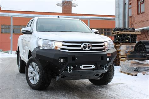 Toyota Front Bumper by Toyota Hilux 2016 Front Bumper