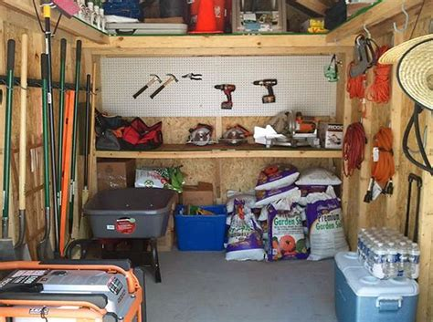 organize  shed  tidy shed  images