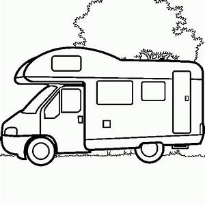 rv coloring pages - cars vehicles pictures picture tags design camper