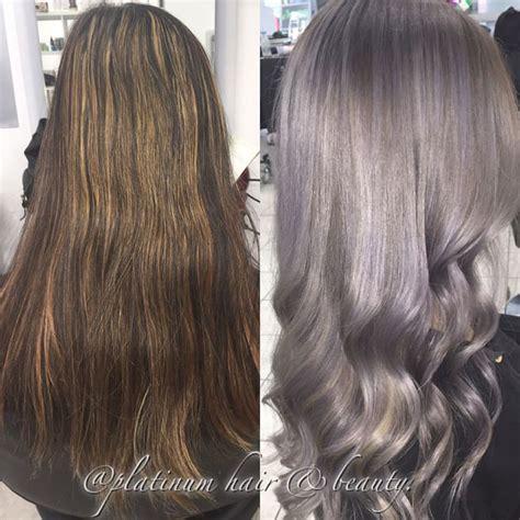 ash gray hair color silvery gray ash hair colors hair colors ideas