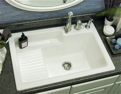 laundry sink with built in wash board home pinterest