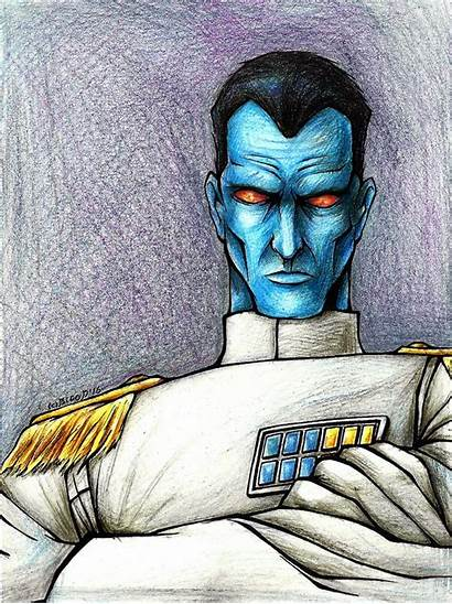 Thrawn Deviantart Admiral Grand Sw