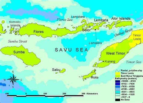 Mar de Flores y Mar de Savu | La guía de Geografía