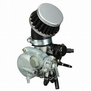 Carb Carburetor With Air Filter For Honda Atv 3