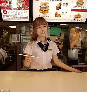 Fans flock to McDonald's in Taiwan to see 'goddess' worker ...