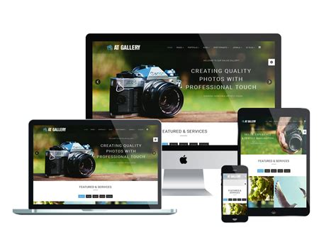 top free photography website templates top best free joomla image gallery photography website