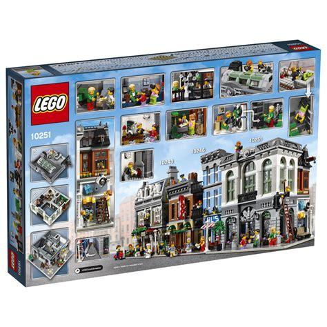 lego creator 16 lego minifigures horsthubert lego creator modular brick bank