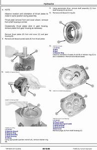 John Deere F4365 Dry Nutrient Applicator Service Repair
