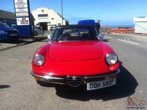 1975 Alfa Romeo Spider 2000cc