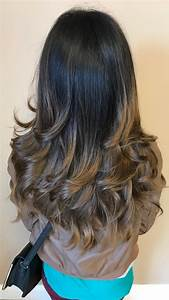 Step Cutting Hairstyle For Thin Hair Long Curly Hair Pictures Indian
