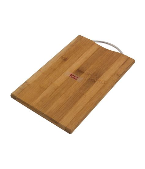 bamboo butcher block taz bamboo chopping block small buy online at best price in india snapdeal