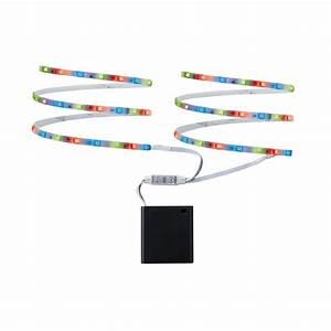 Ruban Led à Pile : ruban led mobile rgb 2 x 80 cm piles lux et d co ~ Dailycaller-alerts.com Idées de Décoration