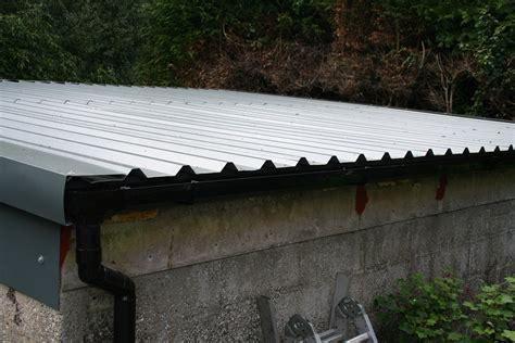asbestos garage roof gutter detail