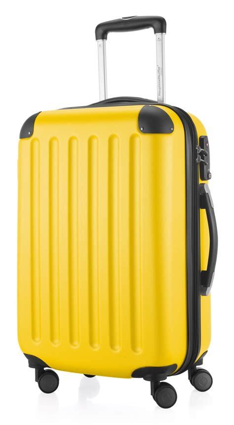 handgepäck koffer hartschale spree hartschalen handgep 228 ck koffer gelb 55 cm