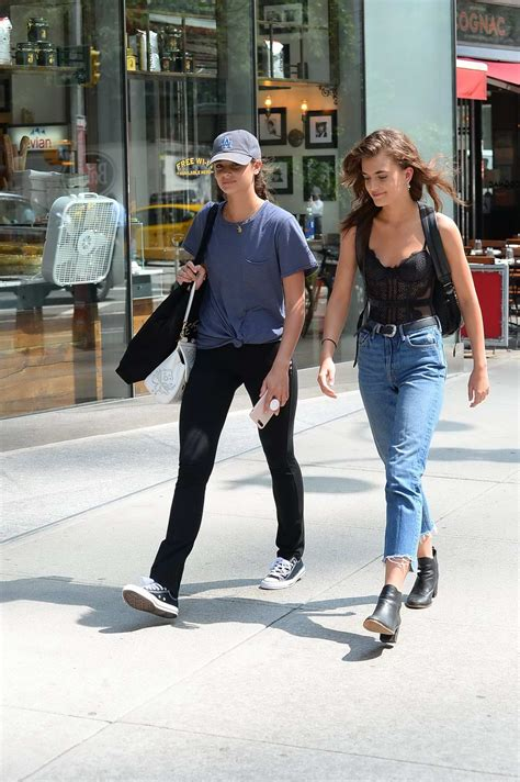 Taylor Hill & Mackinley Hill out in New York City