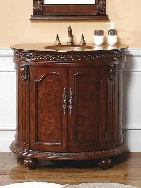 Small Bath Cabinet by A Collection Of Bathroom Vanities With Curved Fronts