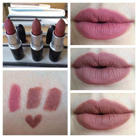 Matte Mac Lipstick Mac Matte Lipsticks In Mehr Whirl Center And
