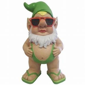 """ASDA Gnome - 12"""" Gavin Mankini only $39 99 at Garden Fun"""