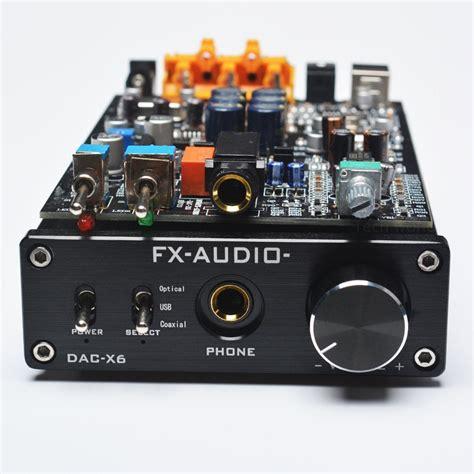 FX Audio dac-x6 question : headphones