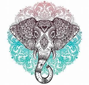 Elephant Mandala Symbolism The Yoga Mandala Store
