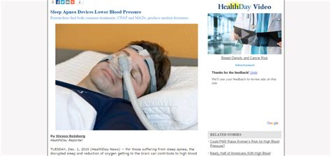 benefits of sleep apnea treatment cpap and mads may help