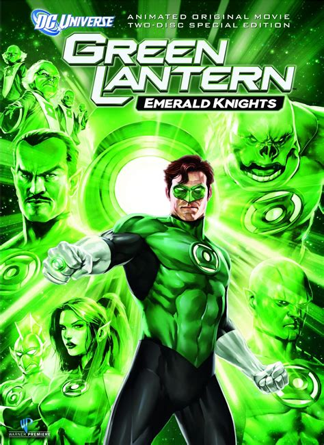 green lantern emerald knights dvd release date june 7 2011
