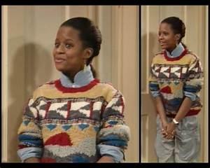 Cosby Show Huxtable fashion blog 80s sitcom Vanessa ...