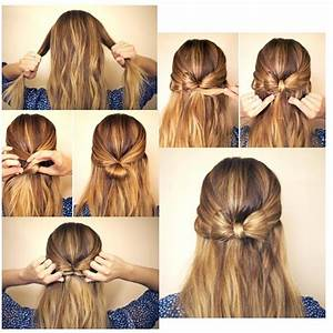 How To Make A Bow In Your Hair I Think I Will Do This
