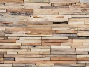 Revetement Bois Mural : rev tement mural 3d en bois mercury by wonderwall studios ~ Melissatoandfro.com Idées de Décoration