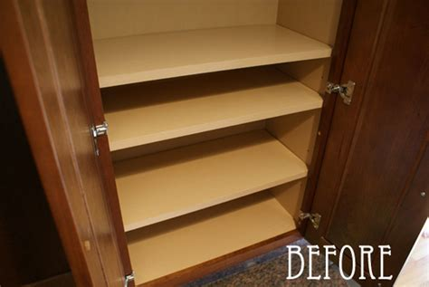 paper to line cabinets before after shelf liner apartment therapy
