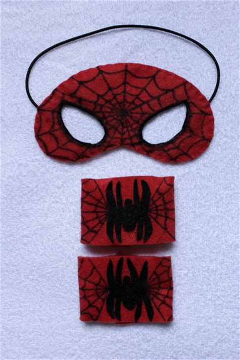 Mascara do Homem Aranha Elo7