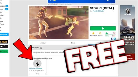 strucid vip servers youtube