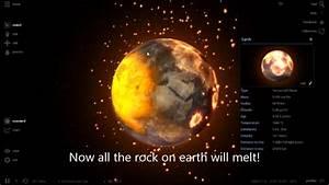 Universe Sandbox 2! I Earth VS Moon - YouTube
