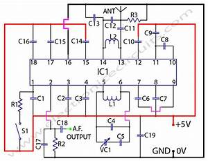 I U0026 39 M Yahica  Fm Receiver Circuit Using Ic 1619