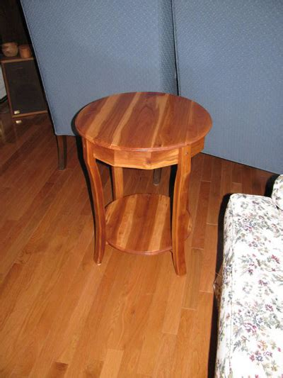 apple wood table woodworking blog  plans