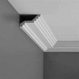 Corniche Plafond Platre : corniches d coratives de plafond moulure effet pl tre ~ Edinachiropracticcenter.com Idées de Décoration