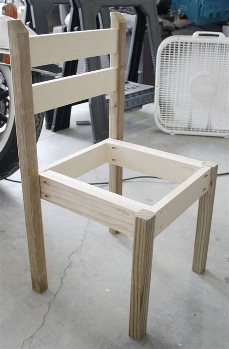 ana white kiddie chairs diy projects