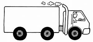 Delivery Truck Clipart Black | Clipart Panda - Free ...