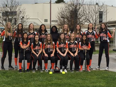 junior varsity cal high softball