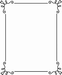 Free Frames | Simple Elegant Black Frame - Free Clip Art ...