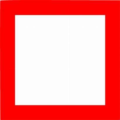 Square Outline Clipart Clip Shape Perfect Icon