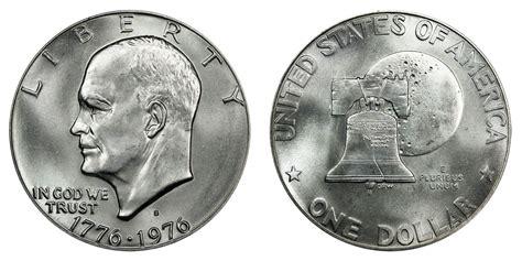 specifications eisenhower silver dollars 1976 s eisenhower dollars 40 silver type 1 low relief bold lettering bicentennial design