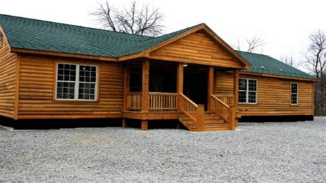 Double Wide Mobile Homes Double Wide Log Mobile Home