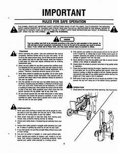 Page 3 Of Mtd Log Splitter 241