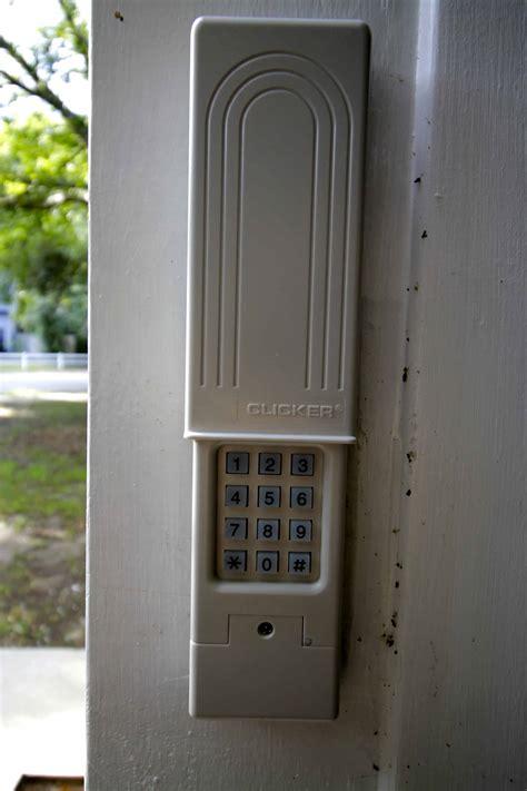 garage door keypad how to replace a garage door keypad charleston crafted